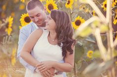 Love that this is me! lol Sunflower field Engagement Photos I www.alyssamartensphoto.com