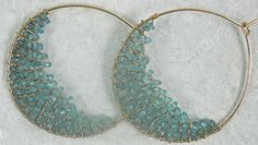 Beautiful seaglass earrings
