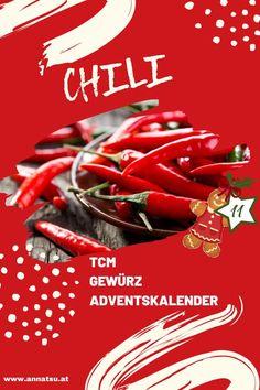 Hinter Türchen 11 meines Gewürz Adventskalenders verbirgt sich der Chili . Ich verrate dir die Wirkung von Chili sowie ein geniales Rezept in der Podcast-Folge vom Gewürz Adventskalender. #Chili #gewürzadventskalender #weihnachten #adventskalender