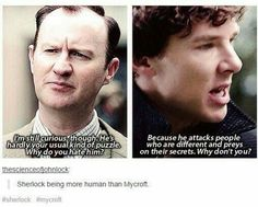 and Sherlock has delt with people like that his whole life and now Magnuson is going after John and Mary and Sherlock won't let that happen<dang man Sherlock Holmes Bbc, Sherlock Fandom, Sherlock Quotes, Sherlock John, Watson Sherlock, Jim Moriarty, Sherlock Bbc Funny, Fandoms, Mrs Hudson