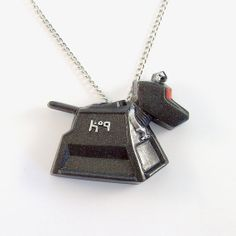K9 Doctor Who Companion Robot Dog Pendant and by TheClayPony, $22.00