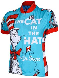 The Cat In The Hat Women's Cycling Jersey by Retro $74.99
