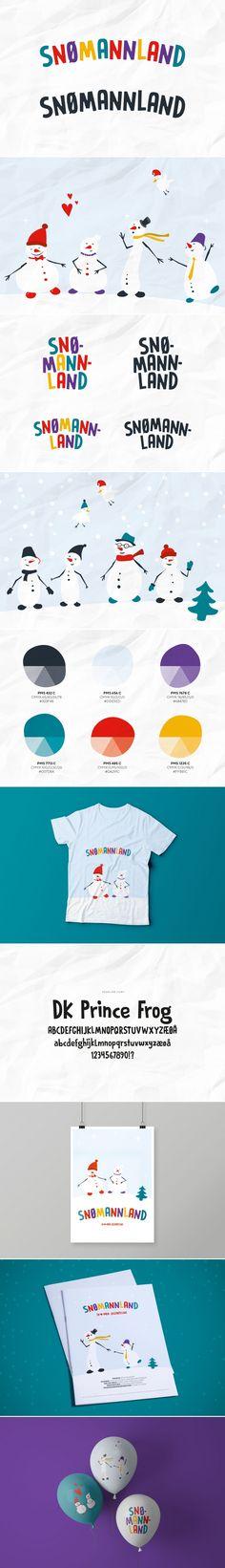 Visuell identitet » Snømannland   Petchy Identity Design, Brand Identity Design