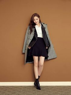 Young Fashion, Asian Fashion, Korean Actresses, Korean Actors, Divas, Park Min Young, Park Shin Hye, Korean Model, Korean Beauty