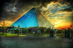 Pyramid Areana  Memphis, Tennessee