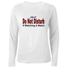 Do Not Disturb the Wrestler's Mom T-Shirt by wrestlingmom2