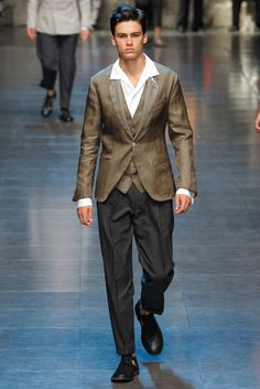 Dolce & Gabbana   Spring 2013 Menswear Collection   Style.com