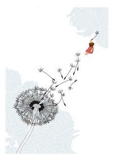 <3 dandelions