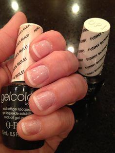 34 New Ideas Gel Manicure Ideas Fall Life French Manicure Acrylic Nails, Gel Manicure At Home, Fall Manicure, Manicure Colors, Pink Manicure, Opi Nails, Nail Polish Colors, Manicure Ideas, Nail Nail