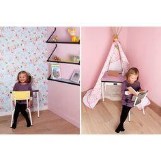 Bureau Régine - Little Chaise Suzie - Les Gambettes www.livingdesign.be