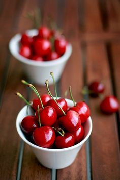 I never liked cherries until my beautiful sister bought fresh ones and said I must just try them! What a revelation! Now I love them!