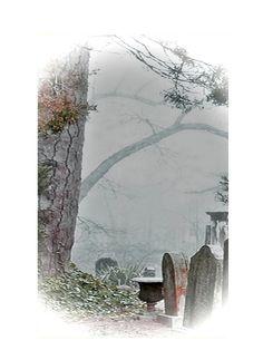 Fantasy Dark Art Death by Winter Fog 5x7 by twistedpixelstudio, $12.00