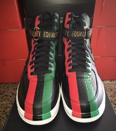 low priced fe862 2edfc Another Look At The Nike Air Force 1 High BHM