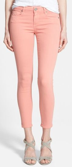 cute spring time skinny jeans
