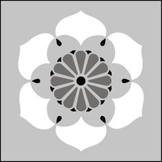 Japanese Blossom stencils, stensils and stencles