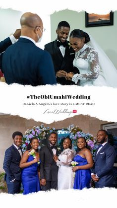 Love Story  Nigerian Love Story  2706 Events  Bridesmaids  Lovers  Mr & Mrs Intimate Wedding  Nigerian Wedding Mr Mrs, Bffs, Love Story, Real Weddings, Bridesmaids, Lovers, Events, Reading, Wedding Dresses