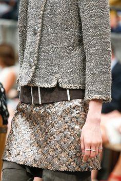 details, Chanel Haute Couture F/W 2013-14