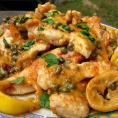 """Lemon Chicken Piccata 