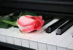piano with roses photos - Bing Images