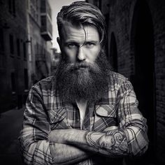 Daily Dose Of Awesome Beard Styles From… Brown Beard, Red Beard, Full Beard, Beard Love, Epic Beard, Beards And Mustaches, Moustaches, Great Beards, Awesome Beards