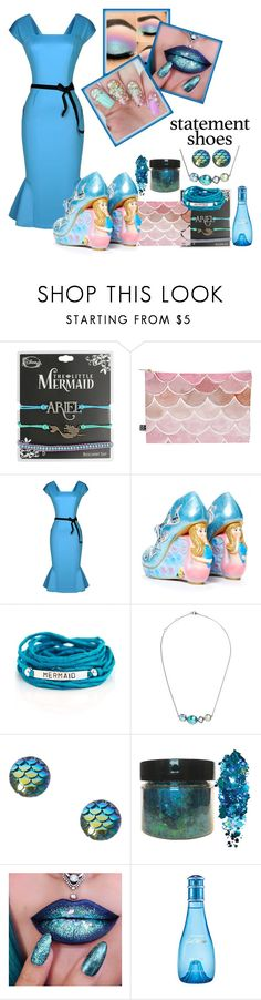 """""""Statement Shoes"""" by trickpink ❤ liked on Polyvore featuring Disney, DENY Designs, WithChic, Irregular Choice, Blooming Lotus Jewelry and Larkspur & Hawk"""