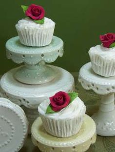 Individual cupcake stands by Handmade Cake Stand
