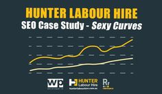 Check out our latest SEO case study for Hunter Labour Hire where we show you some sexy SEO curves like you've never seen before, wow!