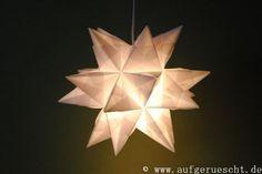 Bascetta-Stern Origami, Table Lamp, Entertaining, Stars, Inspiration, Crafts, Ferrero Rocher, Home Decor, Winter