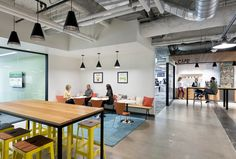 Instacart Office by Design Blitz - Office Snapshots. #meeting #collaborative