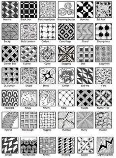 zentangle patterns pdf download - Google 搜尋