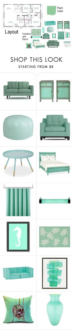 """""""Not So Berry Challenge-Gen 1-Mint-House"""" by mackenzie-lynn-ann-lilly ❤ liked on Polyvore featuring interior, interiors, interior design, home, home decor, interior decorating, Redford House, Liz Claiborne, Kartell and Americanflat"""