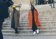 6 Street Style Trends From the Fall 2019 Menswear Shows - Vogue Rare Fashion, Mens Fashion Blog, Fashion Photo, Fashion Trends, Men's Fashion, Fashion Styles, Street Fashion, Fashion Ideas, Snow Fashion