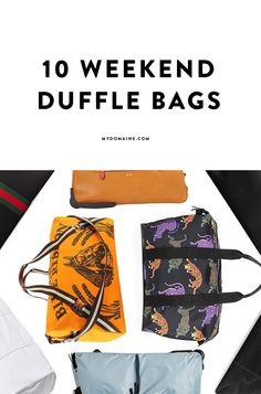 To make weekend getaways easy, here are the perfect accessories