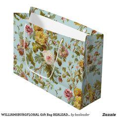 WILLIAMSBURGFLORAL Gift Bag BEALEADER Large Gift Bag