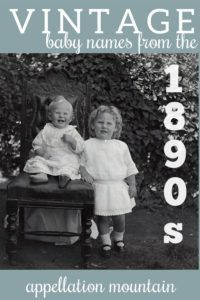 1890s favorites that could be great today, too #babynames #namingbaby #appellationmountain Vintage Baby Names, Famous Names, The Time Machine, Character Names, Comebacks, The Twenties, Surnames, Boy Names, Sims