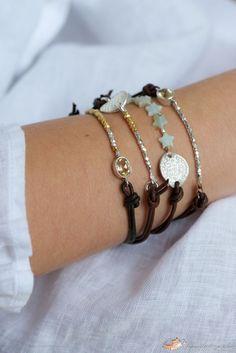 DIY Leather Bracelet Tutorial With a Little Twist