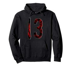Friday 13TH Horror Movie Pullover Hoodie gift.  Friday 13th, 13th of Friday, friday the thirteenth hoodie, scary hoodies, horror hoodie, Makes a great gift for all Horror, and Slasher Movie fans. #friday13th #fridaytjirteenth #hoodies #pulloverhoodie #hoodie #movie #horrormovies #jason #machete #bloody