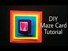 Waterfall Greetings card - DIY Tutorial by Paper Folds ❤️ - YouTube