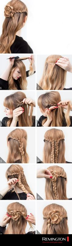 Sigue este sencillo DIY y dale a tu look un toque súper lindo y detallista. #Hair #hairstyle #DIY #beauty #cool #woman #love #braid