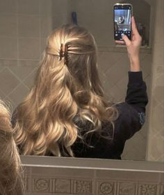 Hair Day, New Hair, Your Hair, Hair Inspo, Hair Inspiration, Aesthetic Hair, Blonde Aesthetic, Aesthetic Makeup, Dream Hair