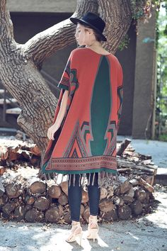 Cinnamon Navajo Sweater Coat...SML...$109.99!!! This is Such a Great Piece For Fall!!! Call To Order 239-403-3550 Email claudette@petuniasofnaples.com