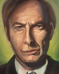 Finished! Portrait of Saul Goodman #bettercallssaul #breakingbad #funny #saulgoodman #amc #bobodenkirk #saul #jimmymcgill #jamesmcgill #lawyer #painting #art #drawing #paint #artist #illustration #portrait #oilpainting #oilpaint #fanart #pencil #sketch #myart by jesskristenart