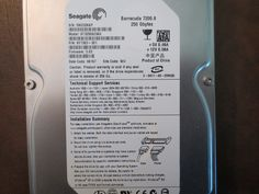 Seagate ST3250823AS 9Y7383-301 FW:3.03 WU 250gb Sata - Effective Electronics #datarecovery #harddriverepair #computerrepair #harddrives #harddriveparts #seagate