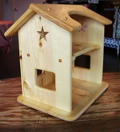 Wooden Dollhouse made by Heartwood Natural Toys