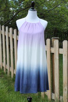 Purple Ombre Sleeveless Shift Dress Summer 2016. Summer 2016 Stitch Fix style