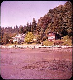 Sunrise Beach near Gig Harbor, Washington, circa 1960 Bruce Thomas