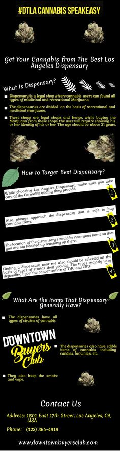 The dispensary is a legal shop where cannabis users can find all types of medicines and recreational Marijuana. The types majorly vary depending upon the concentration of THC and CBD. For more details,