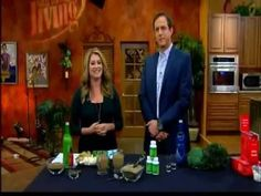 Lindsey Duncan introducing Genesis PURE products on San Antonio Living.