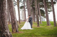 Bride and Groom wedding photography at Packington Moor