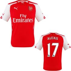 Alexis Jersey Arsenal for Boys and Youth f74cc110e